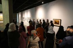 مدیران گالری ها از موزه هنرهای معاصر تهران بازدید کردند