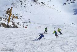 خواب زمستانی اسکی همدان / هیئت اسکی تعطیل است