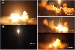 الإعلام الحربي ينشر مشاهد لعملية إطلاق صاروخ ذوالفقار الباليستي على الرياض