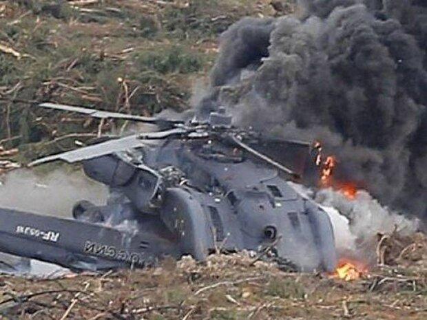 شام میں روسی فوج کا ایک ہیلی کاپٹر گرکر تباہ / ایک اہلکار ہلاک