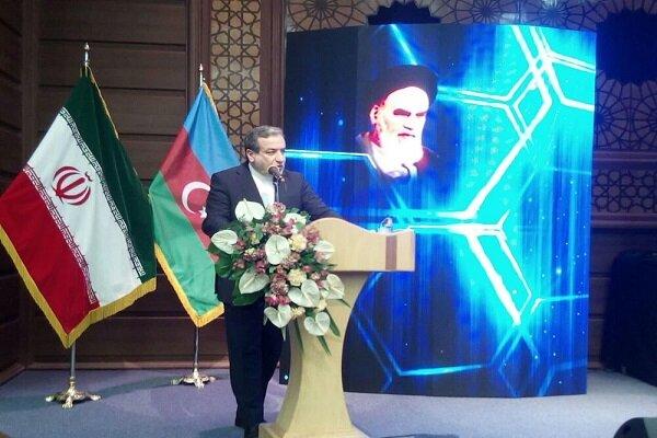 عراقجي: موقف ايران الحاسم هو دعم تحرير اراضي جمهورية اذربيجان