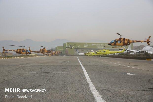 تحویلدهی انواع هواپیماهای نظامی و بالگرد به نیروهای مسلح