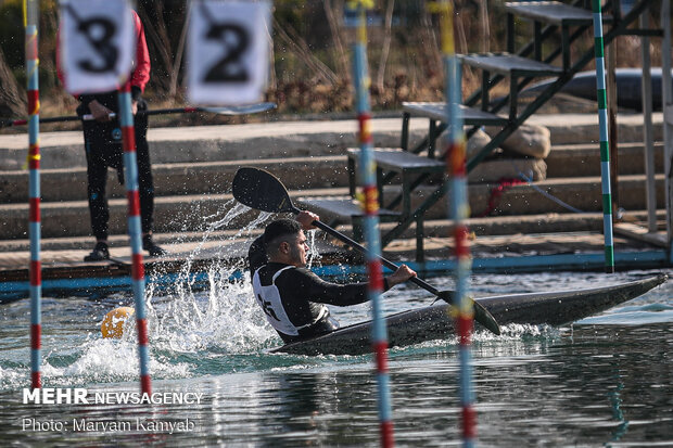 Canoe slalom & rowing competitions in Azadi Sport Complex