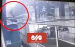 لحظه نجات کودک دوساله پس از سقوط از طبقه ۱۲ ساختمان