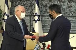سفیر امارات در تلآویو با رئیس رژیم صهیونیستی دیدار کرد