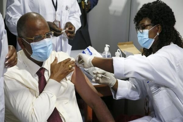 Cote d'Ivoire starts administering COVAX Covid vaccine
