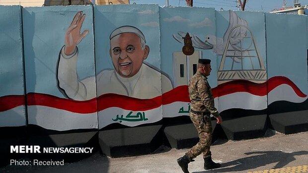 بابا الفاتيكان في زيارة تاريخية الى العراق تستمر 3 أيام