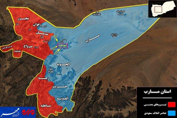 جبهه مأرب؛ اهمیت راهبردی و طرف های درگیر +نقشه میدانی