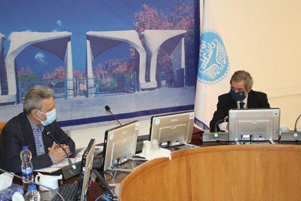 گسترش همکاری بین دانشگاه تهران و دانشگاه پرتغال