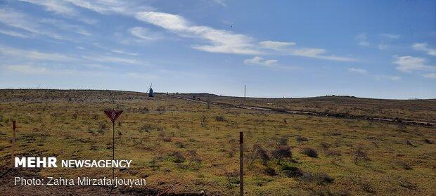 Demining of liberated areas in Azerbaijani Fuzuli