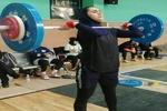 بانوی وزنه بردار کردستانی به اردوی تیم ملی بزرگسالان دعوت شد