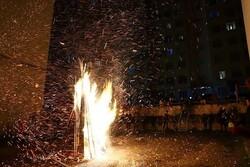 """Azerbaycan'da """"ateş çarşambası"""" kutlandı"""