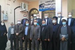افتتاح دفتر جمعیت معتمدان مسجدسلیمان/ کتاب دفاع مقدس رونمایی شد