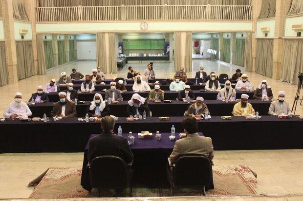بهره مندی قاریان و حافظان شرق کشور از برنامه های شورای قرآن