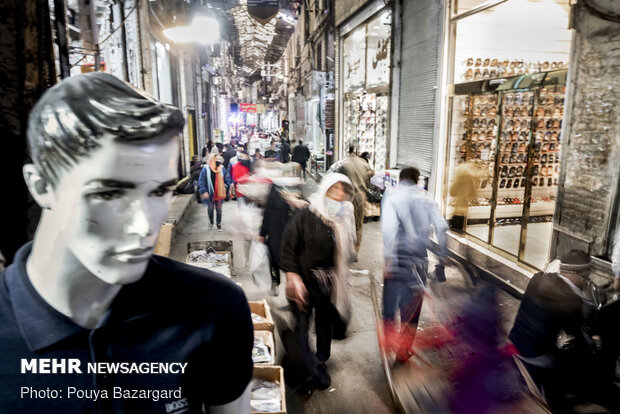 جولان کرونا در بازار بزرگ تهران