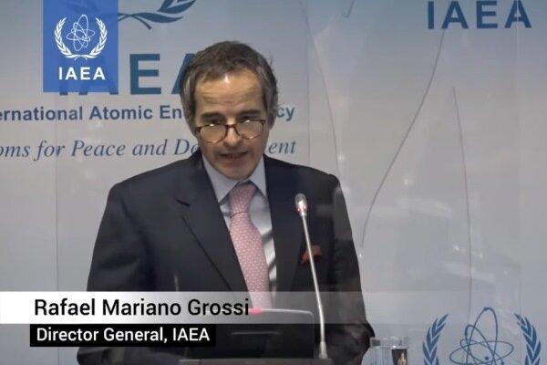 غروسي يرفض توظيف تفتيش المنشآت النووية الايرانية في المفاوضات