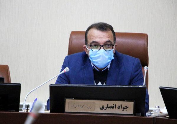 جواد انصاری رئیس شورای شهر اردبیل شد