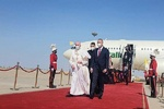 نخستوزیر عراق از پاپ فرانسیس استقبال کرد