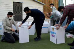 توزیع سبد ارزاق عید نوروز