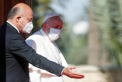 برهم صالح با پاپ فرانسیس دیدار کرد/ تاکید بر نابودی تروریسم