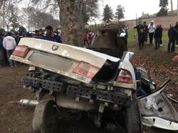 واژگونی سمند در کردکوی ۳ نفر را به کام مرگ فرستاد