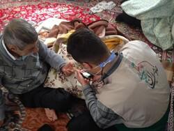 طرح «دستهای مهربانی» با ویزیت رایگان بیماران روستایی در قصرشیرین