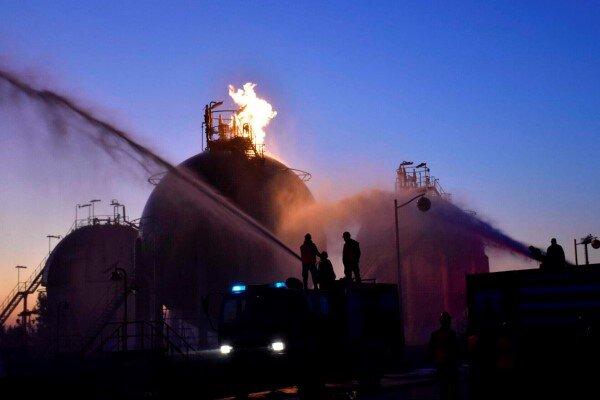 حمله موشکی به پالایشگاههای نفت در شمال سوریه /۱۱ تن زخمی شدند