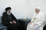 لقاء تاريخي بين البابا فرانسيس والمرجع الديني السيستاني في نجف الاشرف