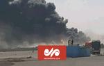 آتش سوزی دوباره در گمرک مرزی افغانستان با ایران