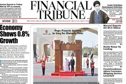 Front pages of Iran's English-language dailies on March 6