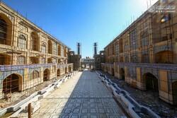 کتابخانه صحن حضرت زهرا (س) آخرین مراحل ساخت را سپری میکند