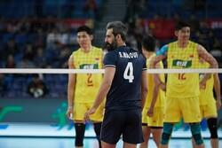 سعید معروف در لیست تیم ملی والیبال ایران برای دیدار با هلند