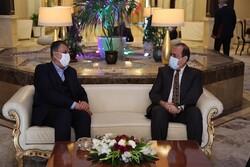 وزير الطرق الايراني يبحث مع نظيره العراقي سبل تعزيز التعاون في مجال النقل
