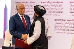 خلیلزاد درباره حکومت انتقالی با طالبان گفتگو کرد