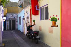 Tahran'ın renkli sokakları