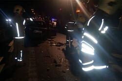 ۵ کشته و ۲ زخمی بر اثر تصادف در جاده اشتهارد - بوئینزهرا