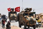 Turkish military convoy enters Syria's Idlib