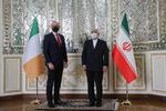İran ve İrlanda dışişleri bakanları görüştü