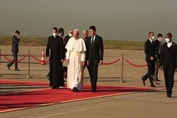 Irak ziyaretini sürdüren Papa, Erbil'e gitti