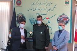 تشکلهای مردم نهاد فعال در حوزه دفاع مقدس تجلیل شدند