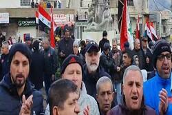 مخالفت مجدد ساکنان جولان با نصب توربینهای بادی از سوی اشغالگران