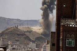 Saudi fighters launch heavy attacks on Sana'a (+VIDEO)