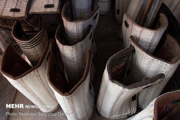 پالان ها با توجه به کاربرد در دو نوع سواری و باری ساخته و تولید می شوند.