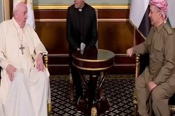 سەردانی پاپ بۆ هەولێر مێژووییە