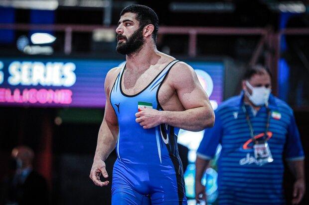 Alireza Karimi wins silver at Matteo Pellicone