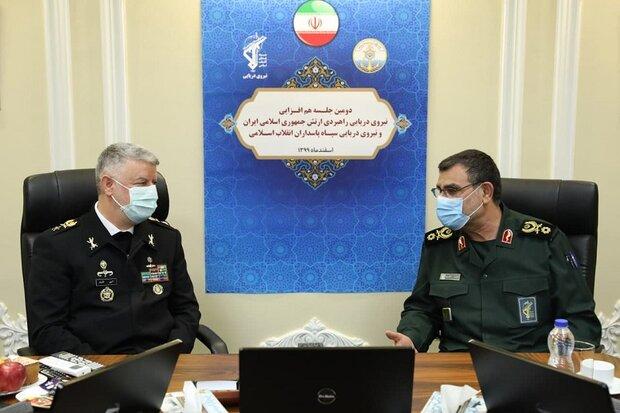 IRGC, Army navies sign intelligence MoU