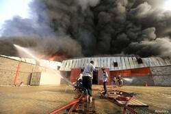 آتش سوزی در کارگاه صنعتی/تشریح جزئیات حادثه