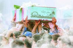 پیکر شهید گمنام در شهر شال به خاک سپرده میشود