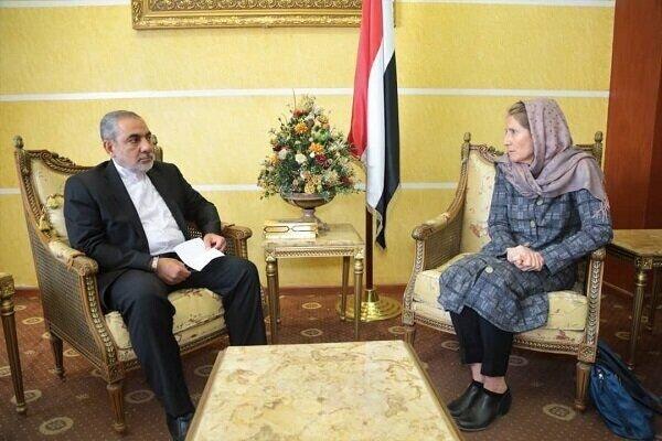 İranlı Büyükelçi, Uluslararası Kızılhaç Komitesitemsilcisi ile görüştü