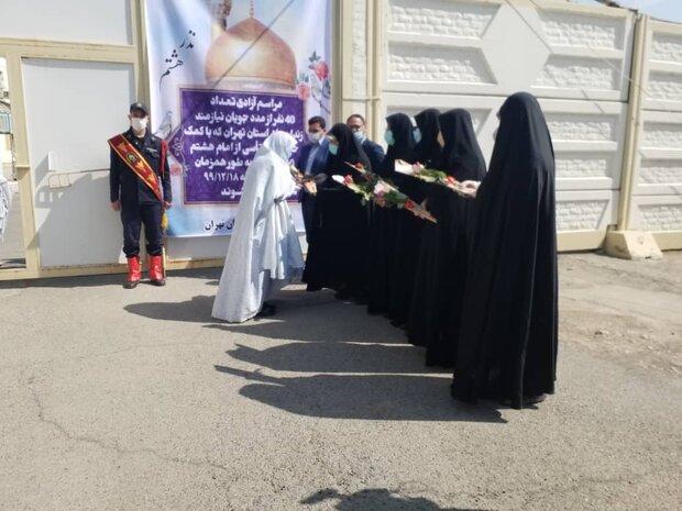 آزادی ۸ زندانی زن تهرانی با بدهی بیش از ۵۰۰ میلیون تومان